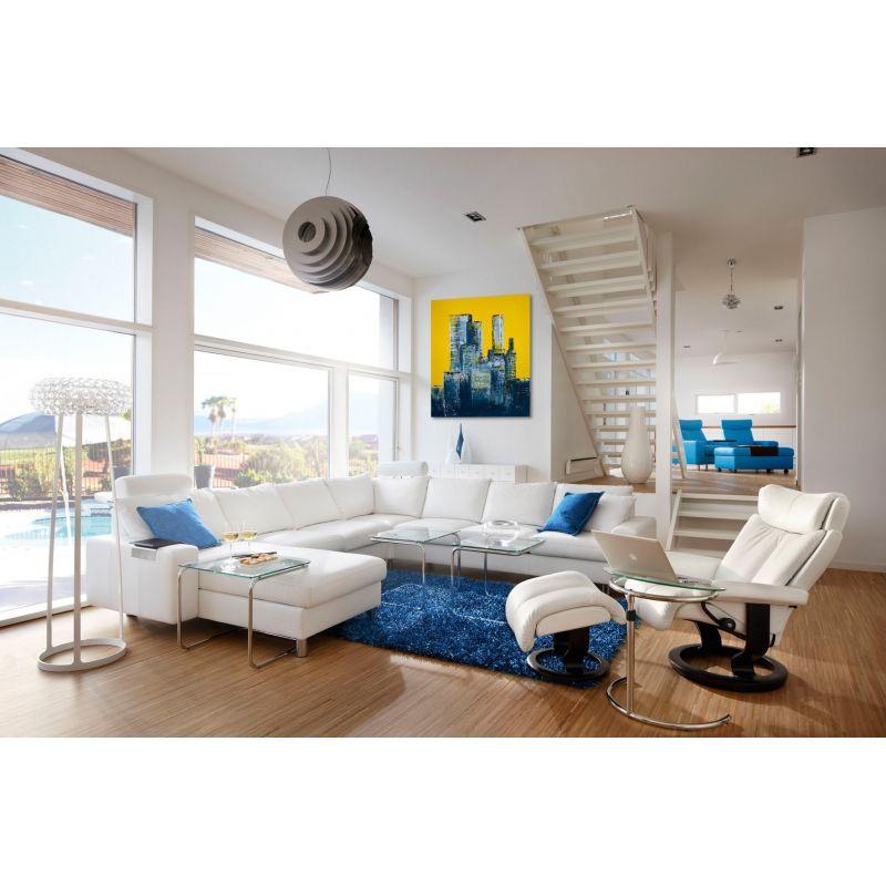 Wandbilder Wohnzimmer City Abstrakt Slavova Art - Wandbilder