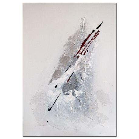 Wandbild Eclyps moderne Kunst handgemalt