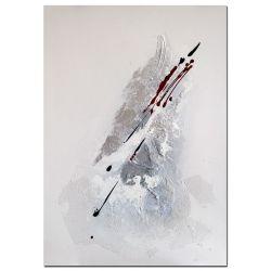 Acrylbild Eclyps moderne Kunst handgemalt