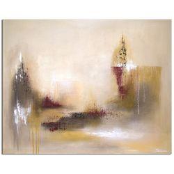 Acrylbild abstarkt Invert Kunst Bild Acryl abstrakt