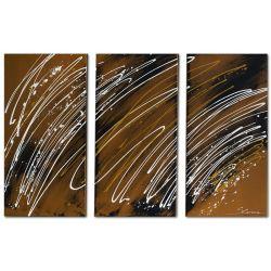 Wandbilder mehrteilig abstrakt Flow