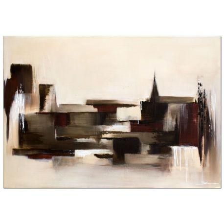 Wandbilder abstrakt der Block handgemaltes Wandbild