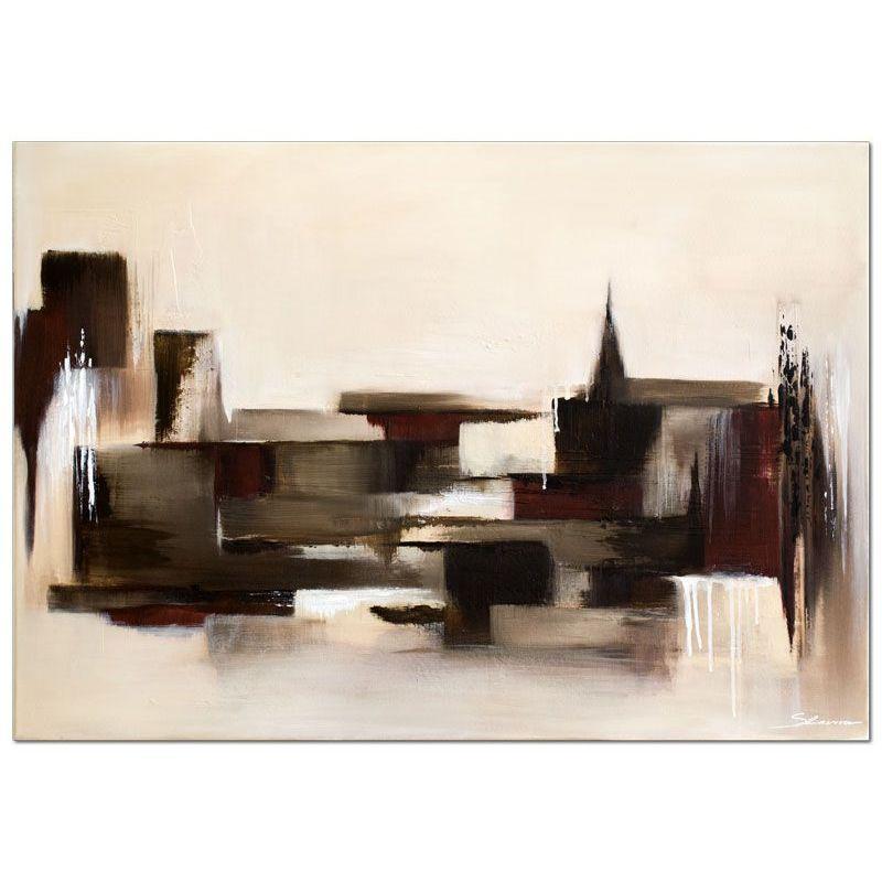 Acrylbilder abstrakt der block handgemaltes acrylbild wandbilder slavova art - Abstrakte wandbilder ...