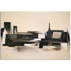 Acrylbilder abstrakt der Block Part II von Antoniya Slavova