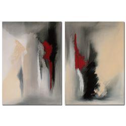 Falling Angel Acrylbild abstrakt