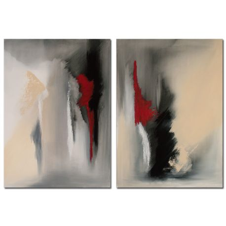 Falling Angel Acrylbild abstrakt Antoniya Slavova