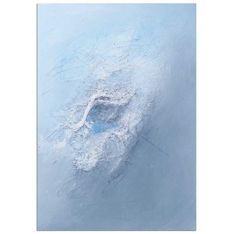 Deep Sea Leinwandbild Acryl Seide