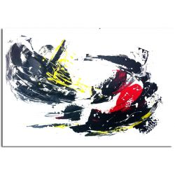 Wandbilder Speed abstarkte Acrylbilder