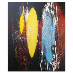 Acrylbilder XL Cosmos Abstrakt Acryl