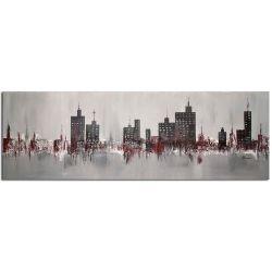 Acrylbilder Wohnzimmer Skyline Acrylbild