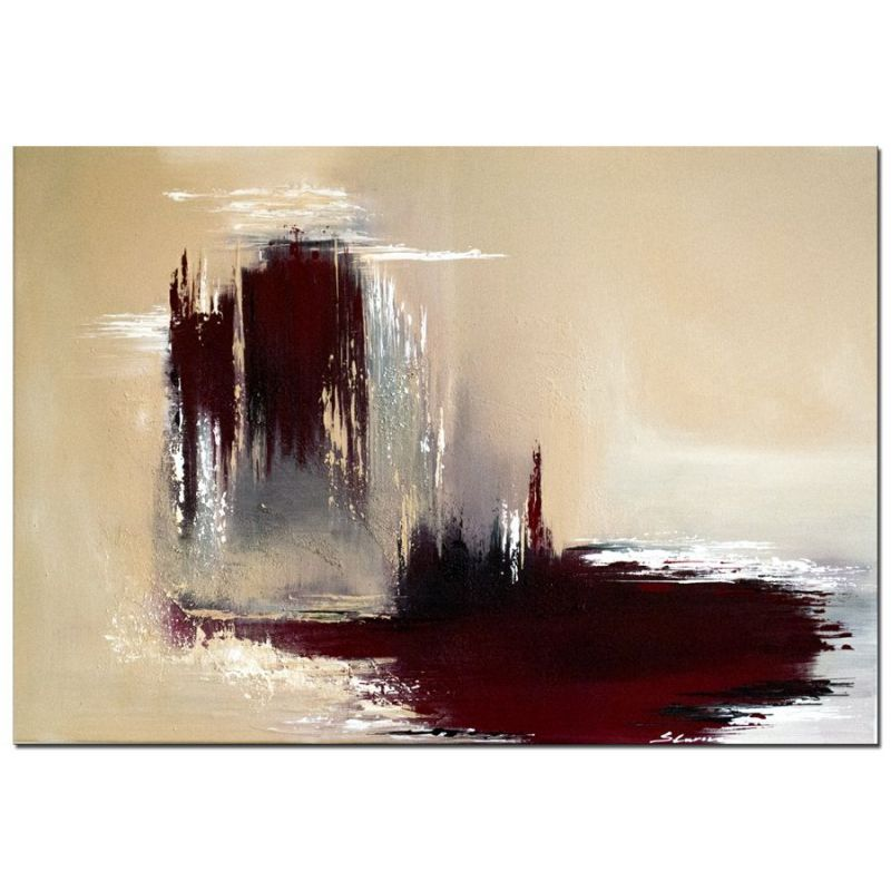 Acrylbilder abstrakt bleeding earth wandbilder slavova art for Moderne wandbilder