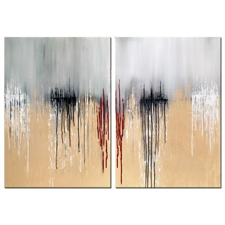 Acrylbild Tears on Horizon abstrakt