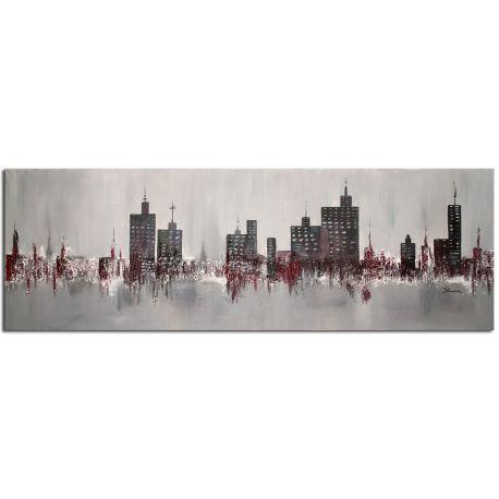 Wandbilder Wohnzimmer Skyline Acrylbild